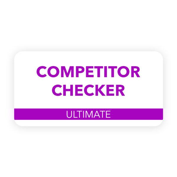 Competitor Checker – Ultimate