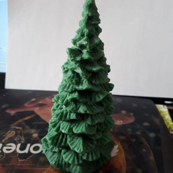 Novelty Xmas tree Candle